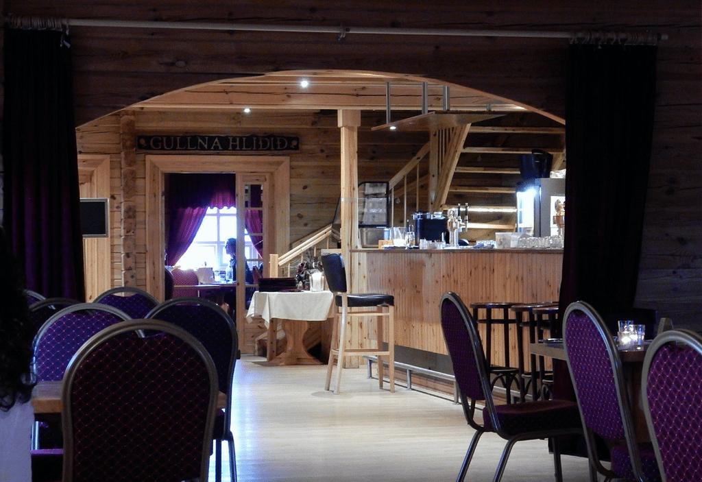 Restaurante Salthusid Islandia