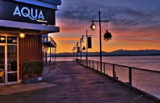 restaurante del muelle del mar