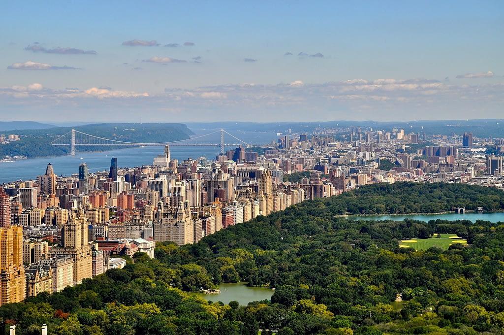 Parque central parque de nueva york