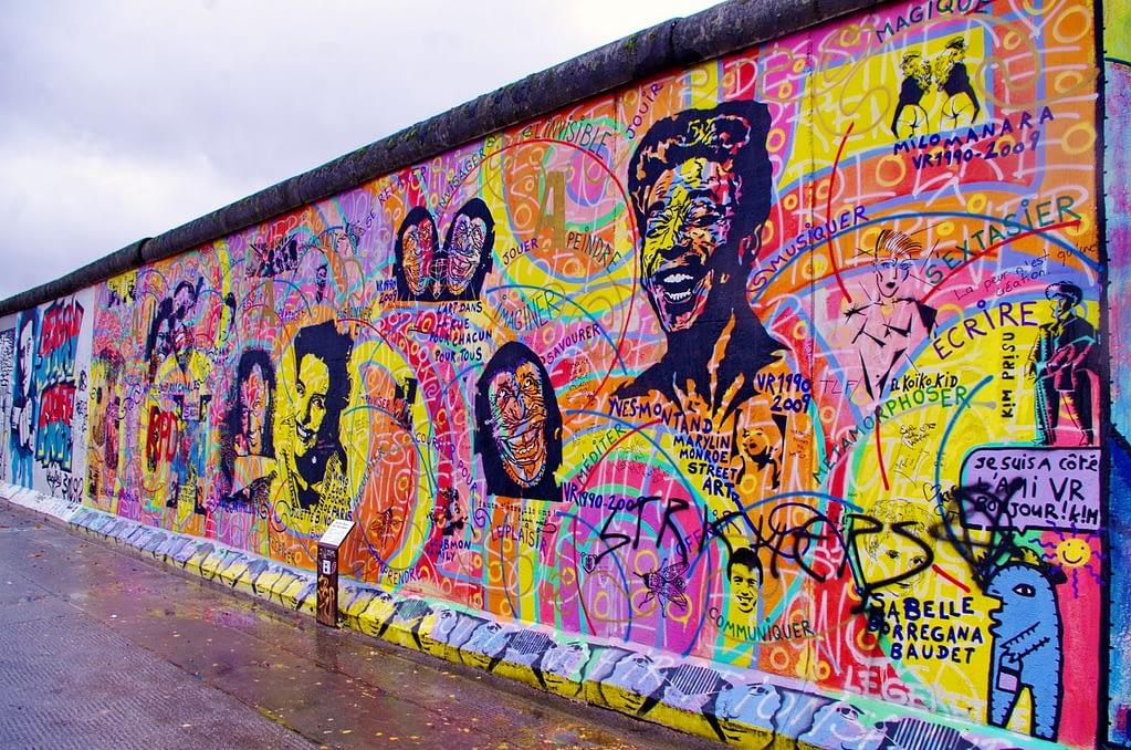 East Side Gallery Muro de Berlín