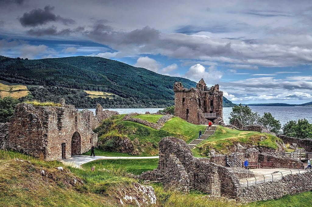 Castillo de Urqhart Loch Ness