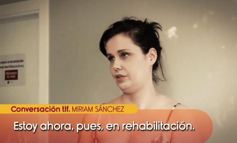 1631670818 89 Miriam Sanchez esta en rehabilitacion y quiere salir del pais