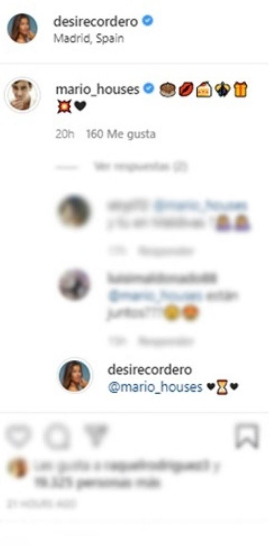 1631731268 587 Mensaje de Mario Casas por el cumpleanos de Desire Cordero