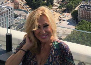 Rosa Benito presentó a su familia en las redes sociales