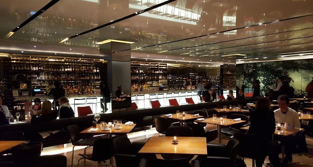 restaurante times square the modern new york