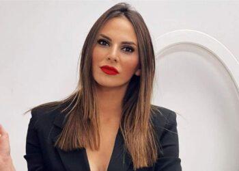 Irene Rosales intercambió palabras de cariño con Emma García en directo