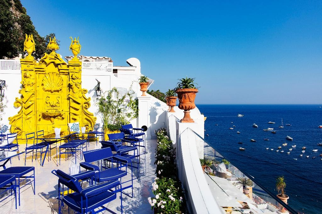 Franco's Bar Bahía de Nápoles Capri