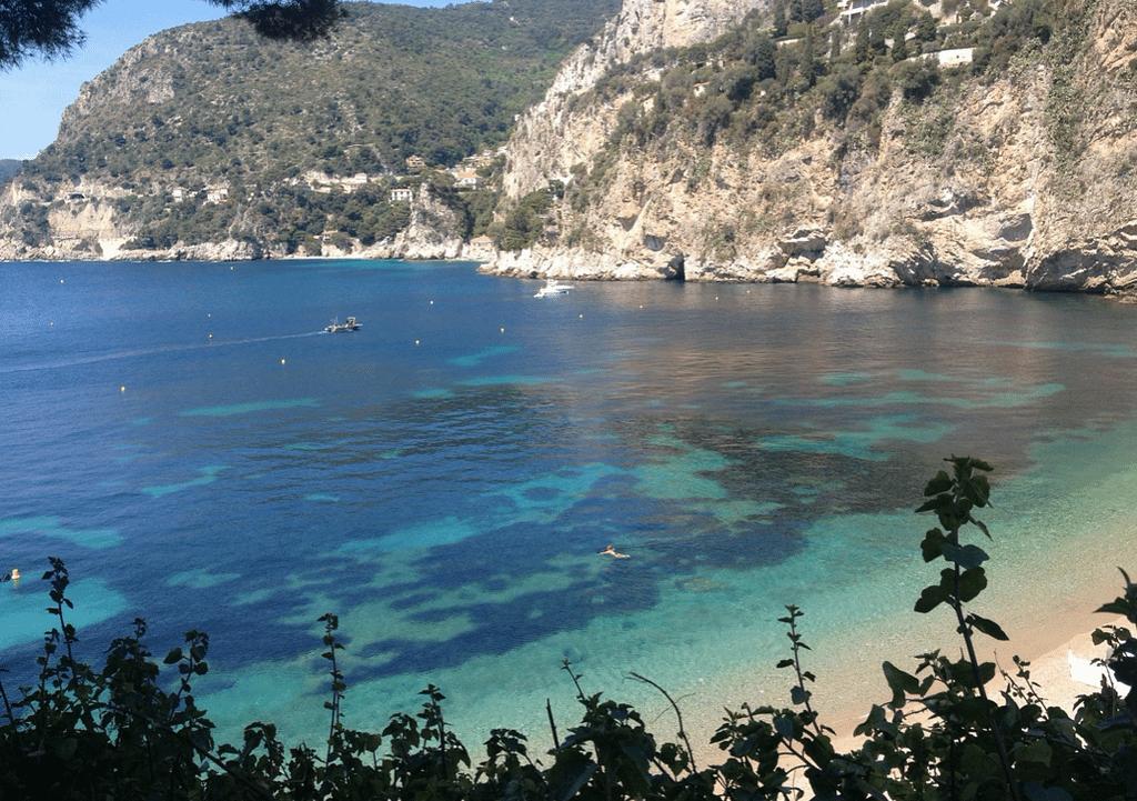 Côte d'Azur playa la Mala