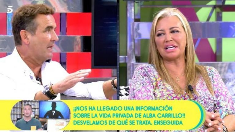 Belen Esteban enfurecida contra el fotografo Antonio Montero