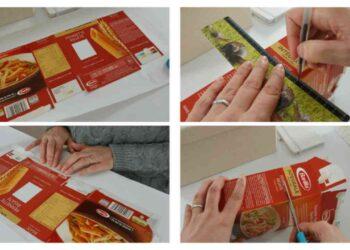 Cajas de pasta, así es como reciclarlas de forma creativa