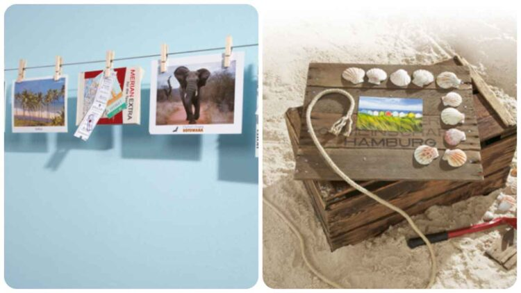 Fotos, aquí hay varias ideas creativas para colgarlas en casa.