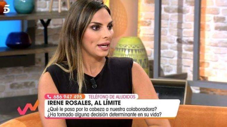 Irene Rosales revelo algunos detalles sobre su futuro