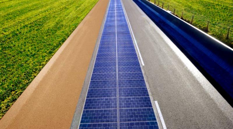 La primera ruta SOLAR del mundo produce aun mas energia de la prevista