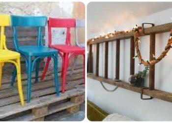 Mobiliario, magníficas ideas para el hogar con reciclaje creativo