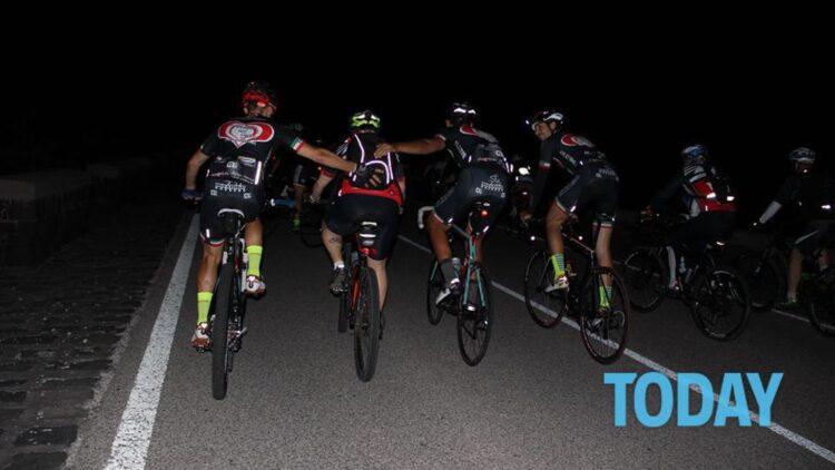 Tercera edición del Etna de noche, un evento ciclista abierto a todos