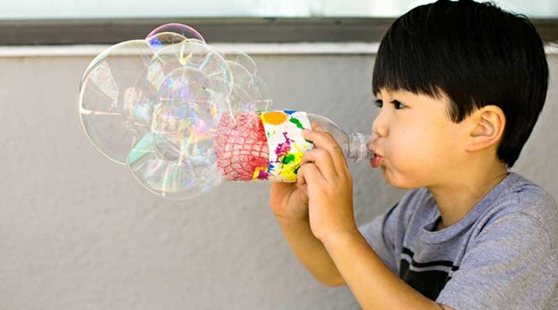The Bubble Bubble Blower Kids LOVE