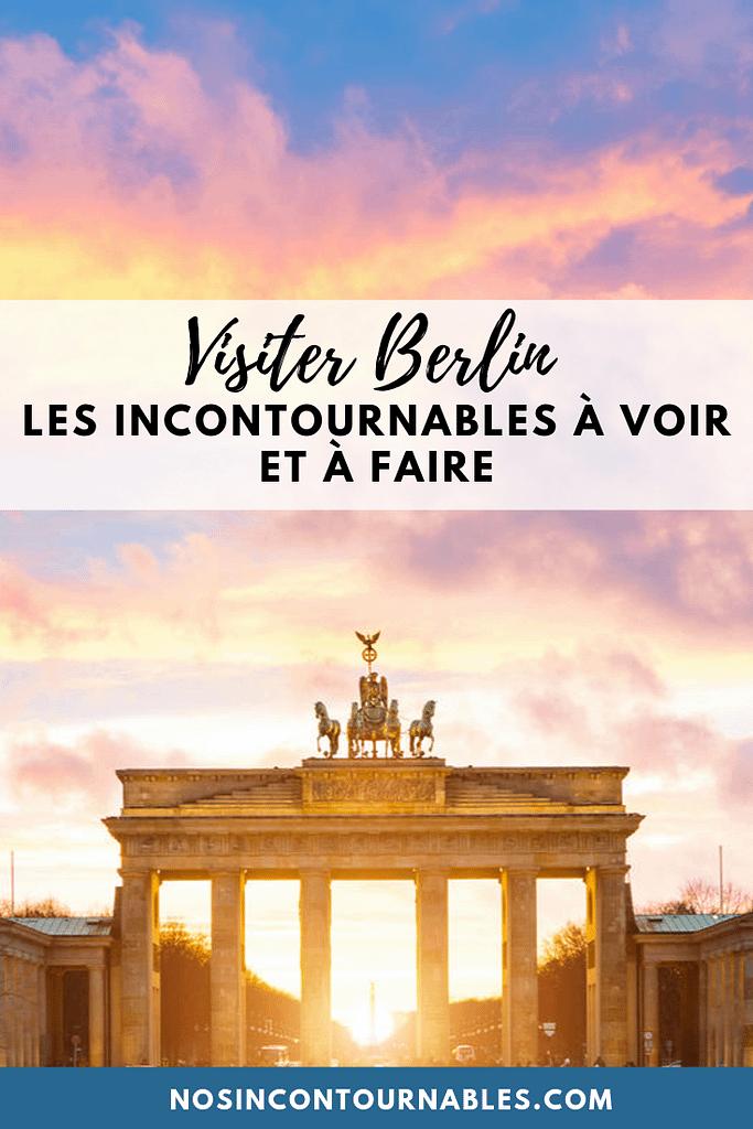 Visite Berlin lo esencial para ver y hacer