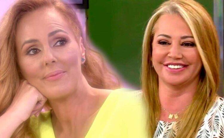 Rocío Carrasco y Belén Esteban
