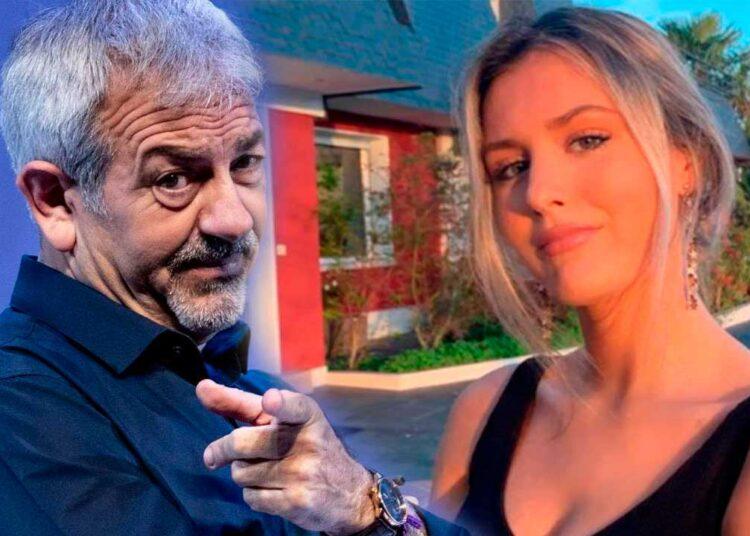 Carlos Sobera y su hijastra Arianna Aragón
