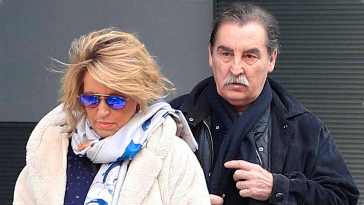 Lydia Lozano y su marido Charlie