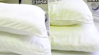 comment laver blanchir oreillers 6588 mini