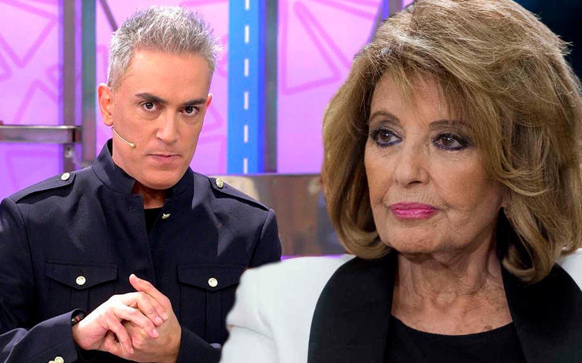 Kiko Hernández destapa la traición de María Teresa Campos. Se veía venir