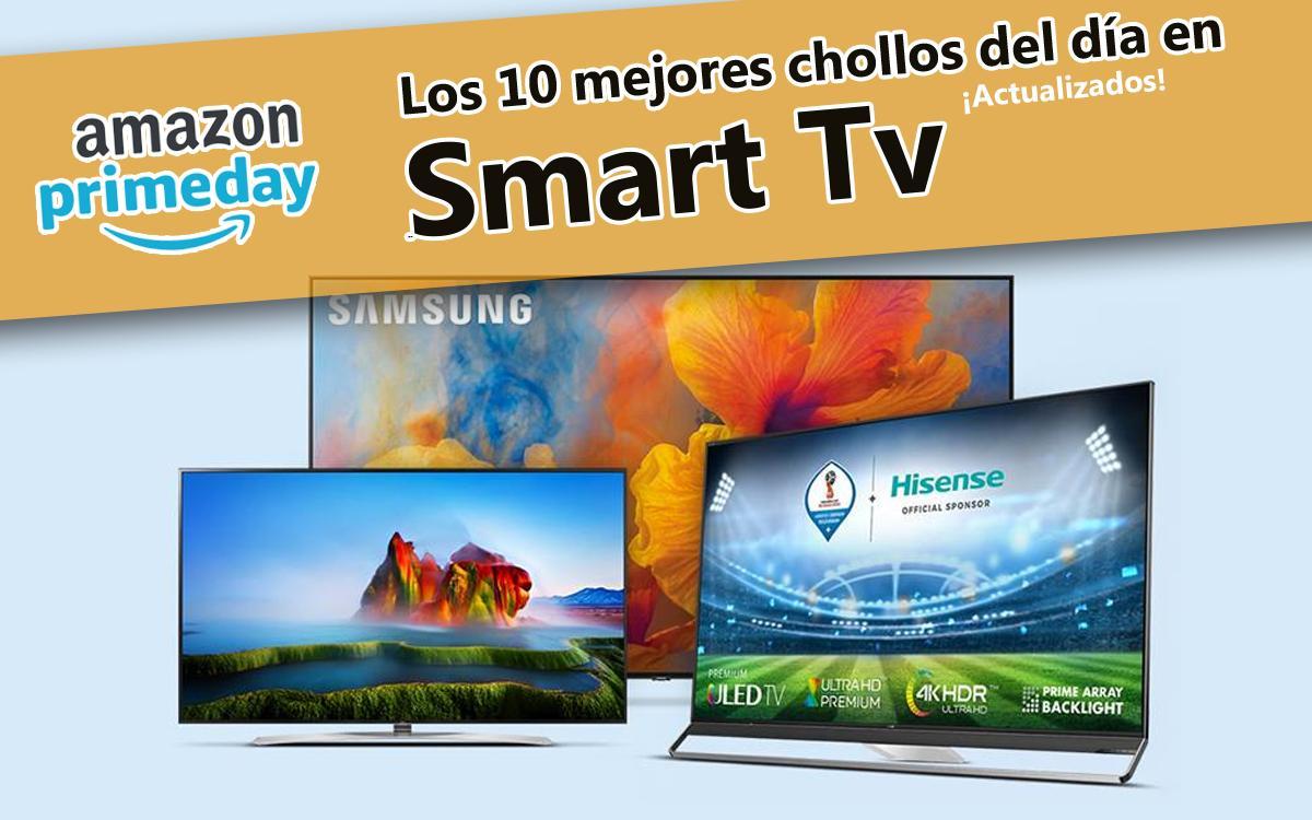los 10 mejores chollos (actualizados) del día en Smart TVs