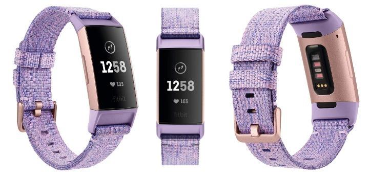 Pulsera de actividad para mujer Fitbit Charge 3 color oro rosa