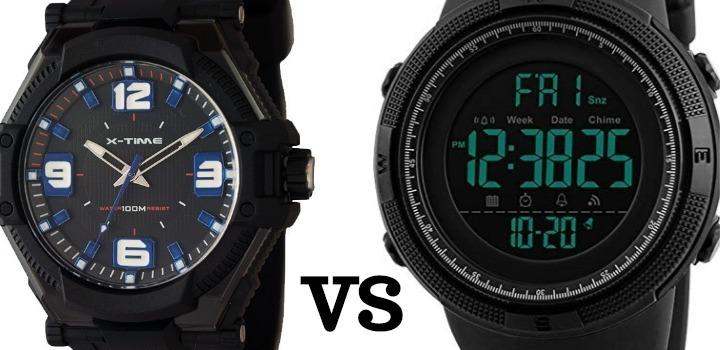 reloj analogico o digital ¿Cual comprar?