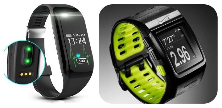 reloj con GPS o pulsometro