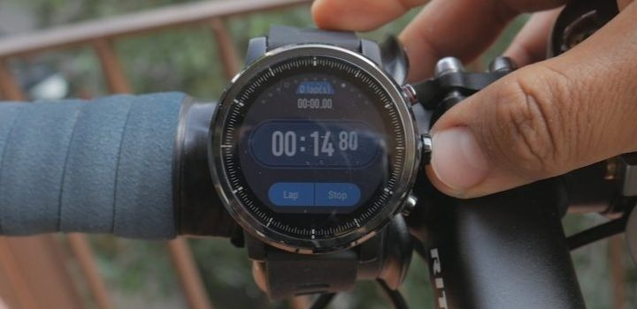 reloj deportivo con GPS