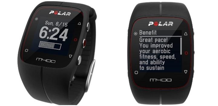 Reloj Deportivo con Pulsómetro y GPS Marca Polar M400 HR