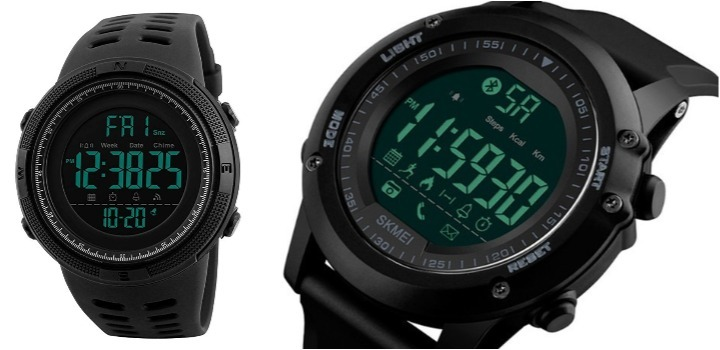 Reloj deportivo marca ZAWTR para hombre modelo militar