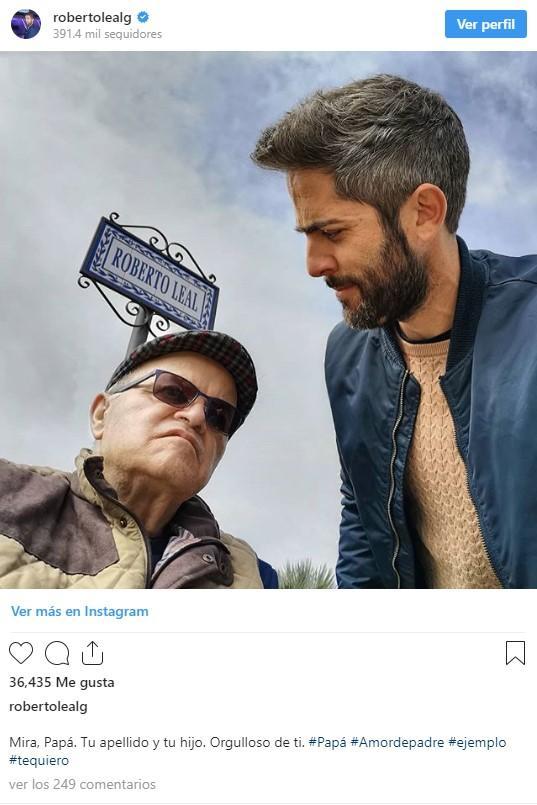 roberto leal instagram