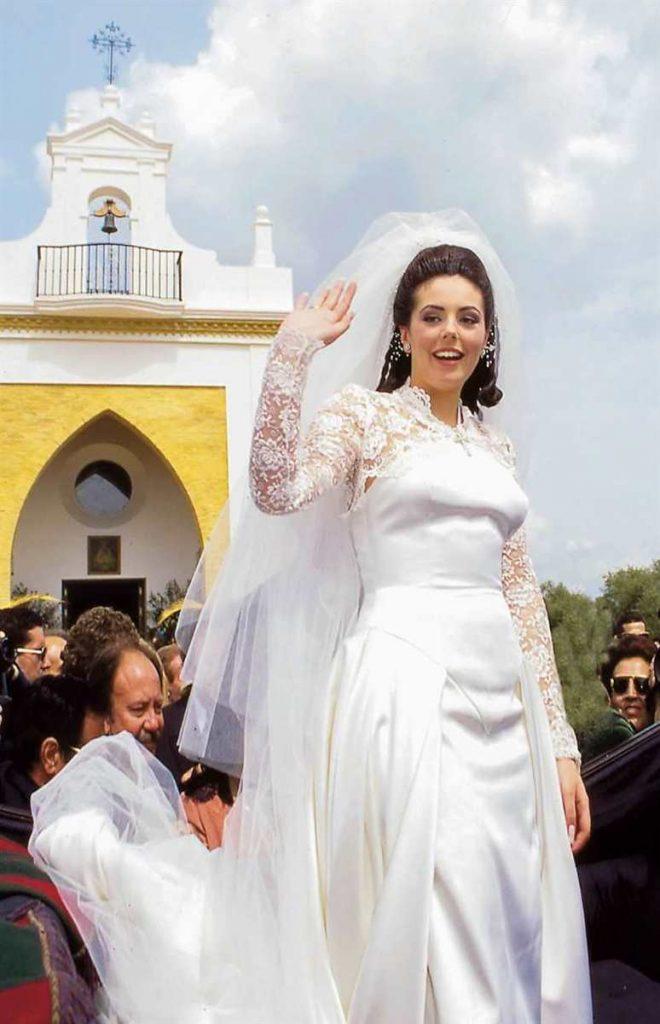 rocio carrasco vestido boda